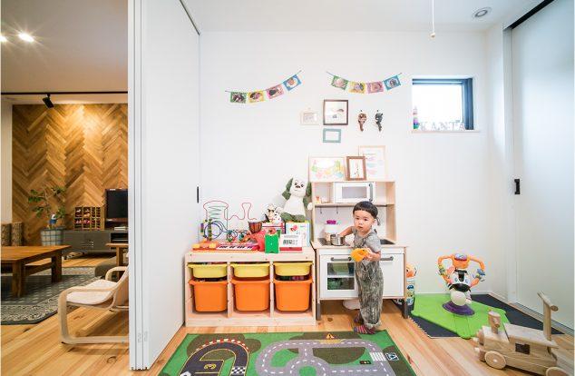 将来間仕切りの子供部屋