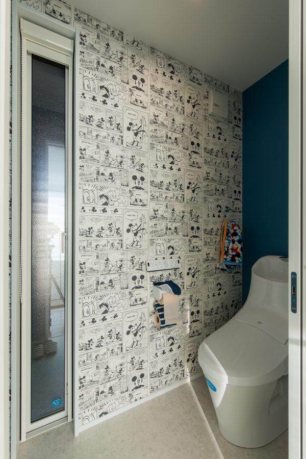 ディズニー好きのためのトイレ