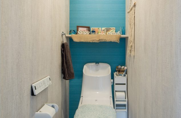 カリフォルニアスタイルな奥様好みのトイレ