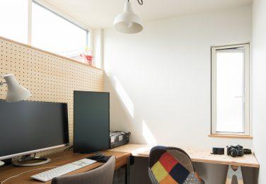 パソコンや趣味に没頭できるスペース